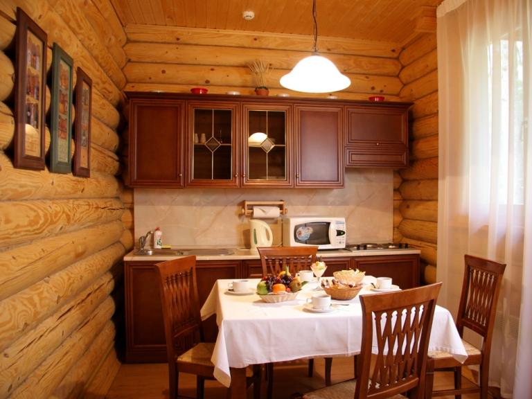 Кухня в дачном доме фото